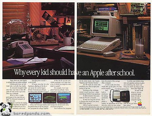 15 Vintage Computer Ads That Used To Be Cool   Bored Panda