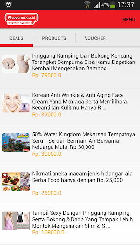 EVoucher Diskon Daily Deal