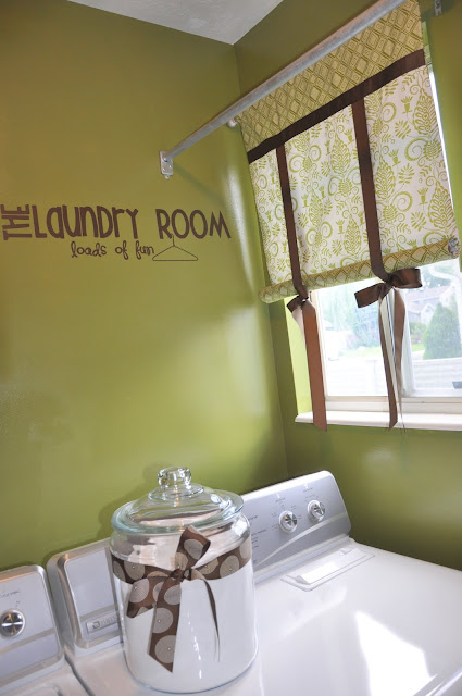To a T: Revamping the Laundry Room