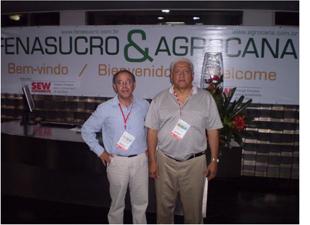 Peruanos Marco Polo y Carlos Albuquerque en Fenasucro- Brasil 2009