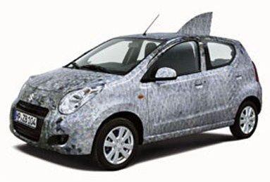 Suzuki Alto will flash the fish scales