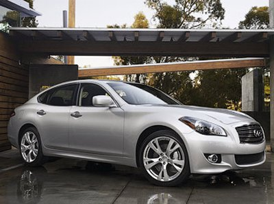 Nissan will alter sedan Infiniti M