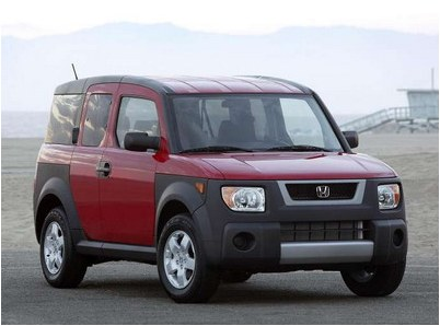 The second generation of Honda Element