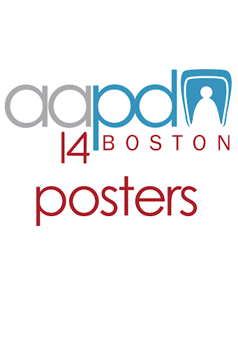 AAPD 2014 Posters