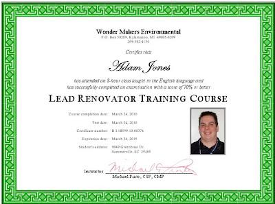 RIA Certification