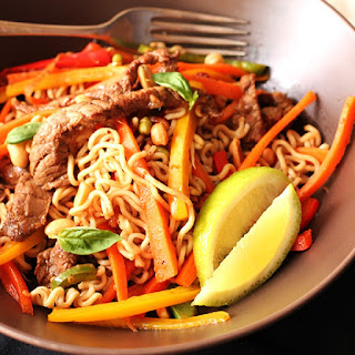 Noodle And Beef Stir Fry Recipe by Anina's Recipes