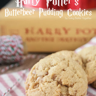 Harry Potter's Butterbeer Pudding Cookies