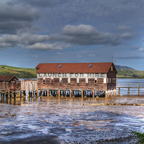 Tomales Bay by Arvind Mallya - Buildings & Architecture Other Exteriors ( water, california, tomales bay, house, usa,  )