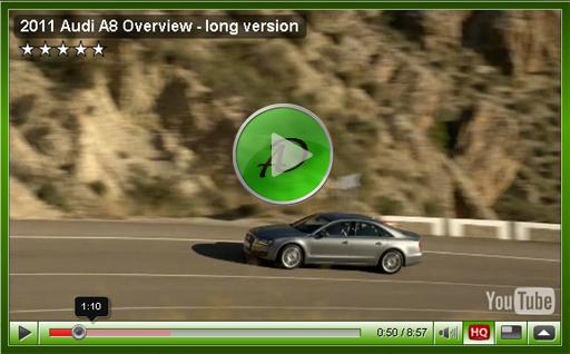 Видео Audi A8