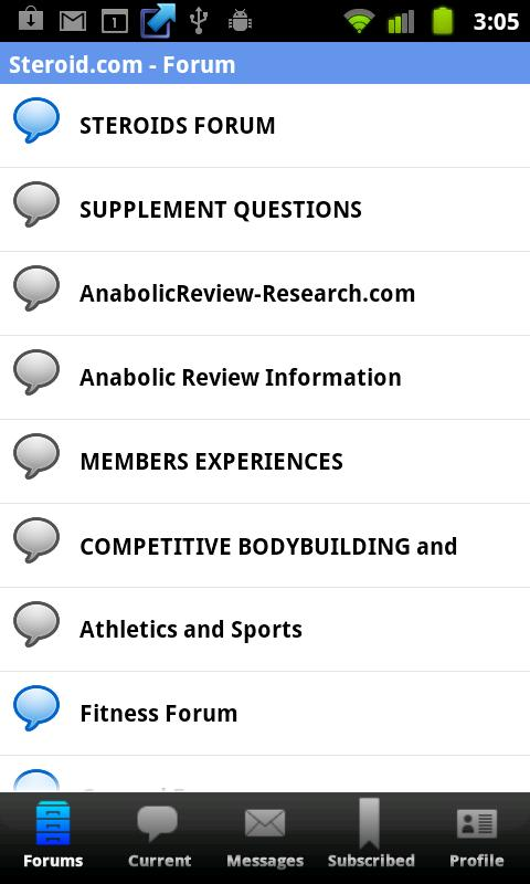 Steroid.com - Online Community - screenshot