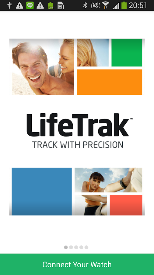 LifeTrak- screenshot