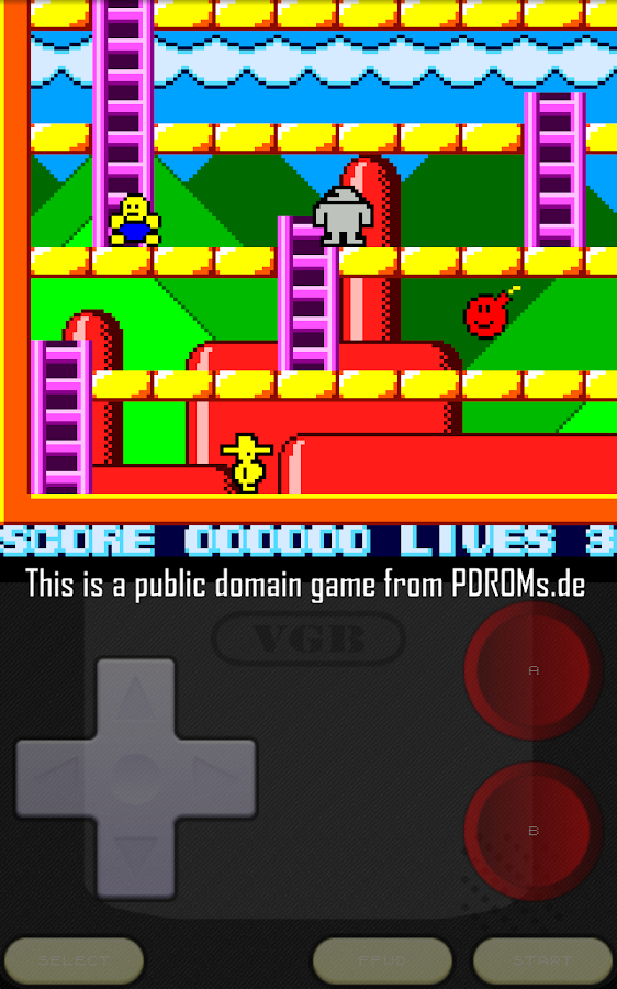 VGB - GameBoy (GBC) Emulator- screenshot