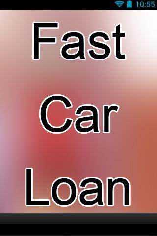 Fast Car Loan