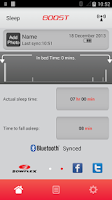 Screenshot of Bowflex Boost