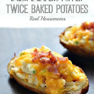 popper twice baked potatoes real housemoms butter baking potatoes ...