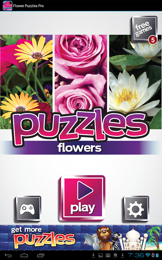 Flower Puzzles - FREE Game- screenshot