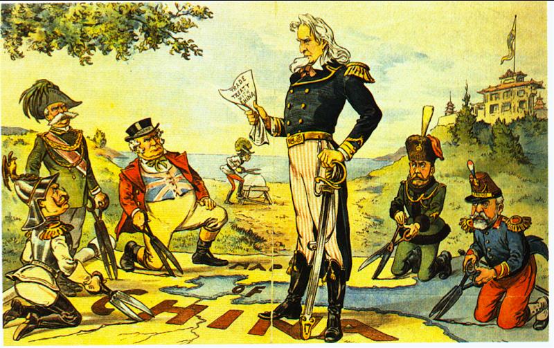 World History: Political Cartoons on Imperialism - teachmeonegai