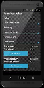 Logbook2Go (Fahrtenbuch2Go) - screenshot thumbnail
