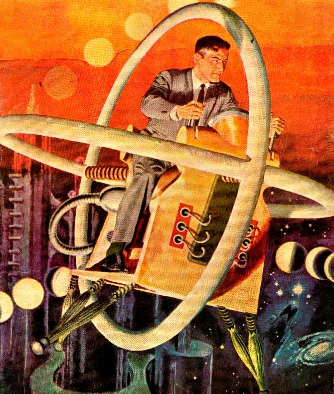 Rare Wonderful 1950s Space Art: Rare & Wonderful 1950s Space Art