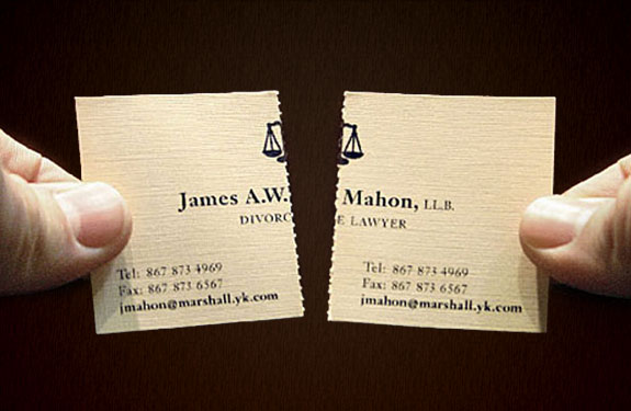 14 creative tear off ads notice that there is a contact information on both sides of the business card more colourmoves