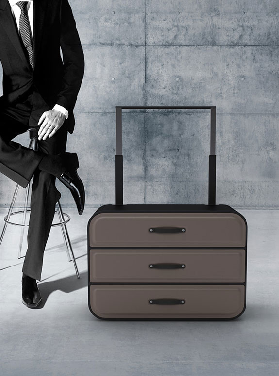Closet Suitcase For Business Travelers