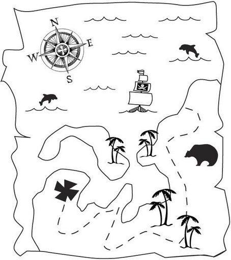 Dibujos De Piratas Para Pintar