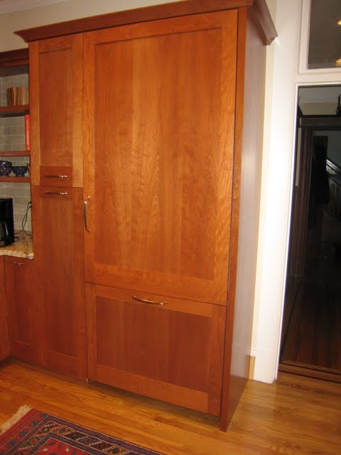 Cherry Cabinets With White Or Red Oak Floor