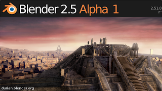 Blender 2.5 Alpha 1
