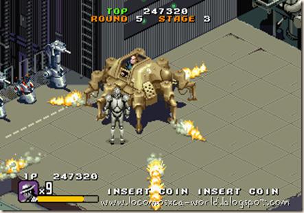 Moonwalker Arcade 8