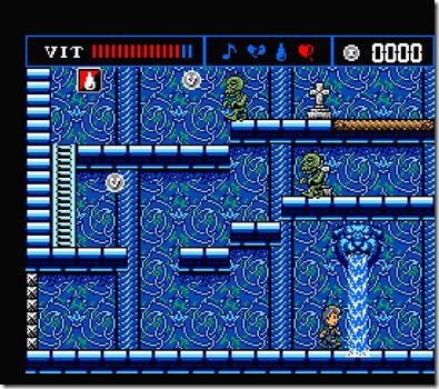 Treasure of Usas (pantalla juego)