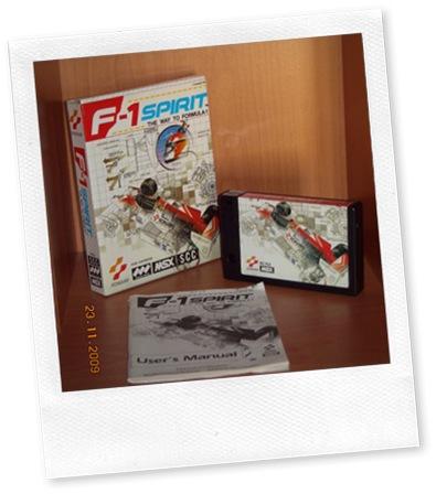 F-1 spirit MSX completo.