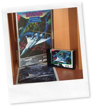 Gradius 2 MSX (juego completo)