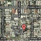Google Map of Los Feliz shooting.