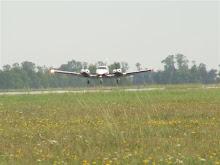 Seneca V landing RWY 31