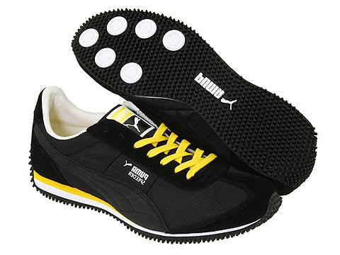 infraestructura Apariencia Colaborar con  zapatos gorila en zapatos-gorila.blogspot.com: Speeder PUMA M Negro /  Diente de Le¨®n / Blanco