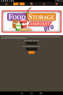Food Storage Assistant Pro- screenshot thumbnail