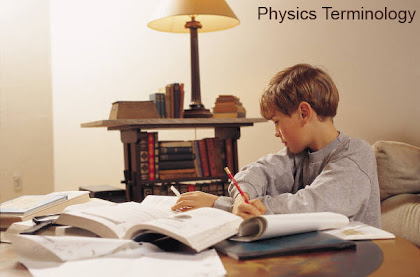 Physics Definitions Terminology Dictionary