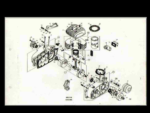 bultaco cemoto alpina parts diagram manual 100pg for
