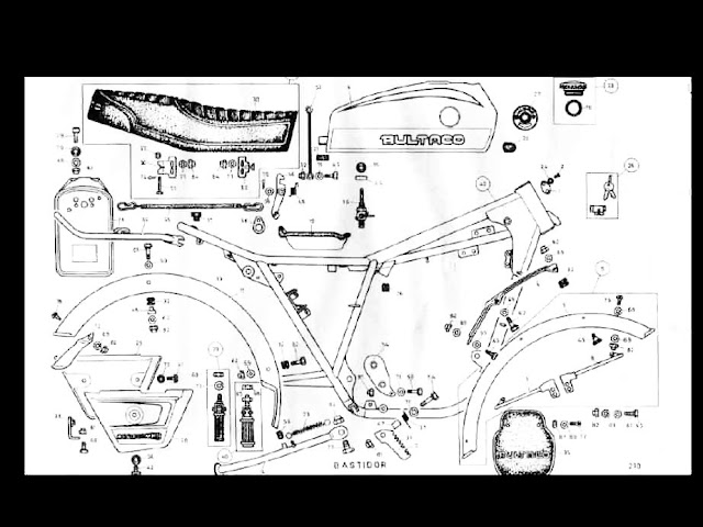 bultaco matador mk 100 350 parts motorcycle manual for sale Hodaka Wiring Schematic these are some examples from the bultaco matador mk100 parts manual