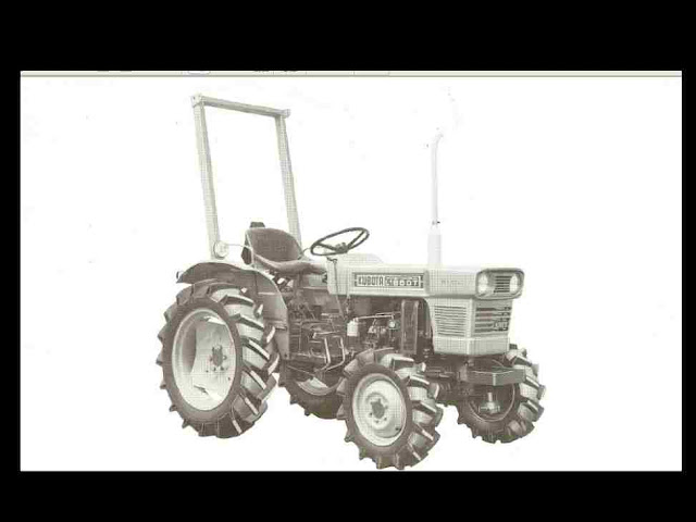 Kubota L185 L185DT L 185 L 185 DT Tractor Parts Manual