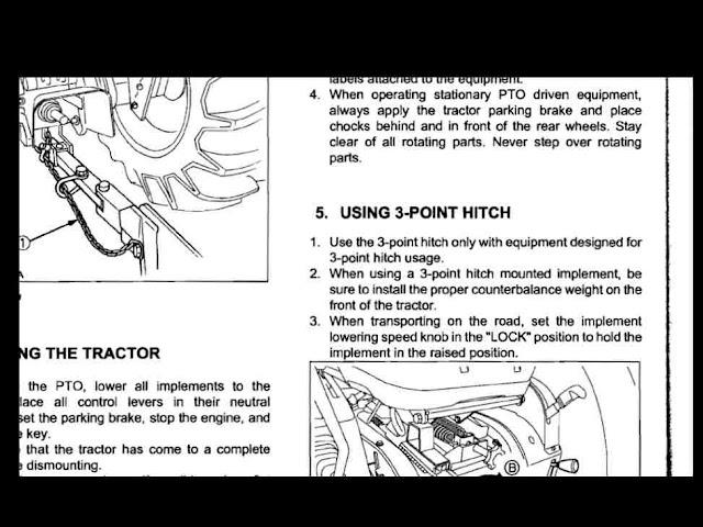 Kubota L3240 L3540 L3940 L4240 L5240 L5740 Manual For