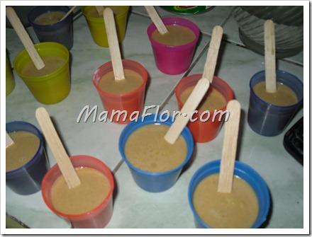 Como hacer Chupete o Marcianos de Lúcuma