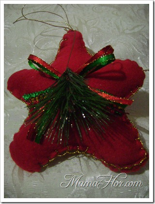 Como hacer una estrella navideña -6622