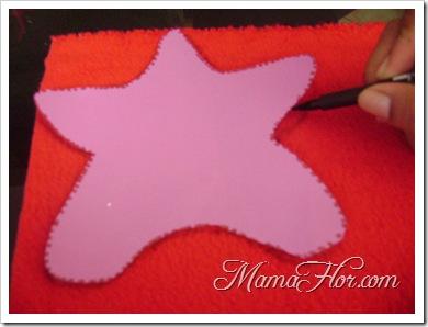 Como hacer una estrella navideña -6597