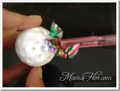esferas navideñas manualidad - 47