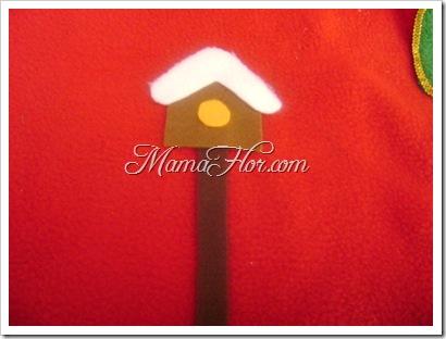 Como hacer la base o pie del Árbol navideño -5144