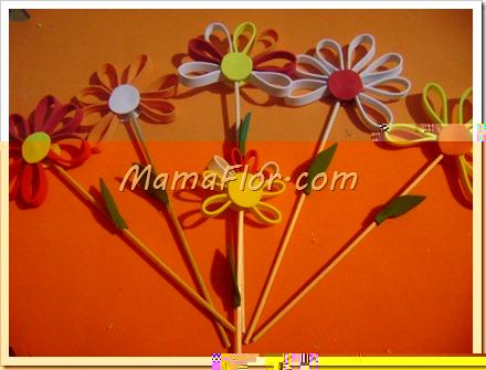 Como hacer Flores de Goma Eva o Fomis
