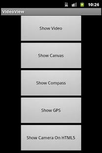 HTML5 on Android - screenshot thumbnail