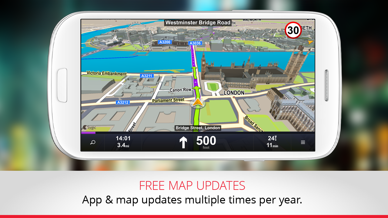 Maps & GPS Navigation by Sygic - screenshot