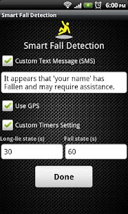 Smart Fall Detection - screenshot thumbnail